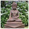 Boeddha tuinbeeld bhumisparsha L rustiek_1