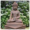 Boeddha tuinbeeld bhumisparsha L rustiek_2