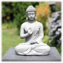 Tuinbeeld Boeddha namaskara licht S