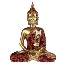 Thaise meditatie Boeddha met luxe gewaad