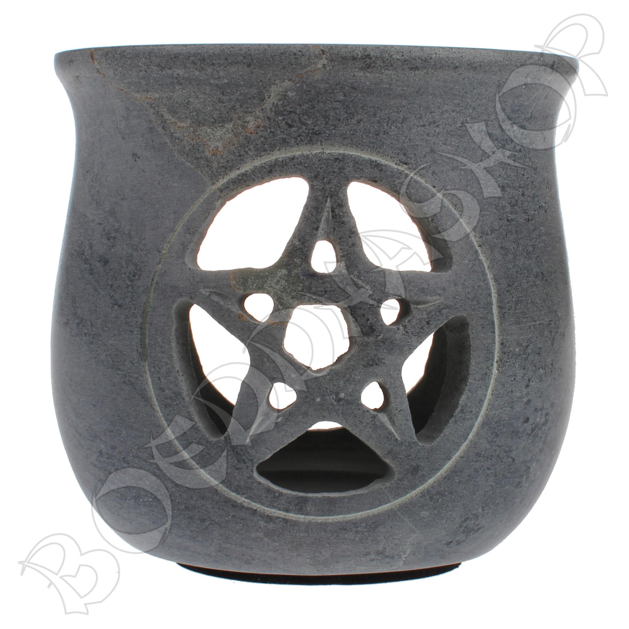 Korrelwierook brander Pentagram grijs