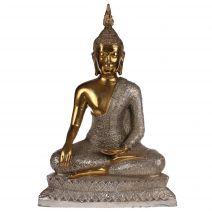 Handgemaakte bronzen Thaise Sukhothai Boeddha