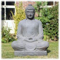 Tuinbeeld mediatie Boeddha XXXL