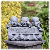 Welcome monnikjes Horen Zien Zwijgen