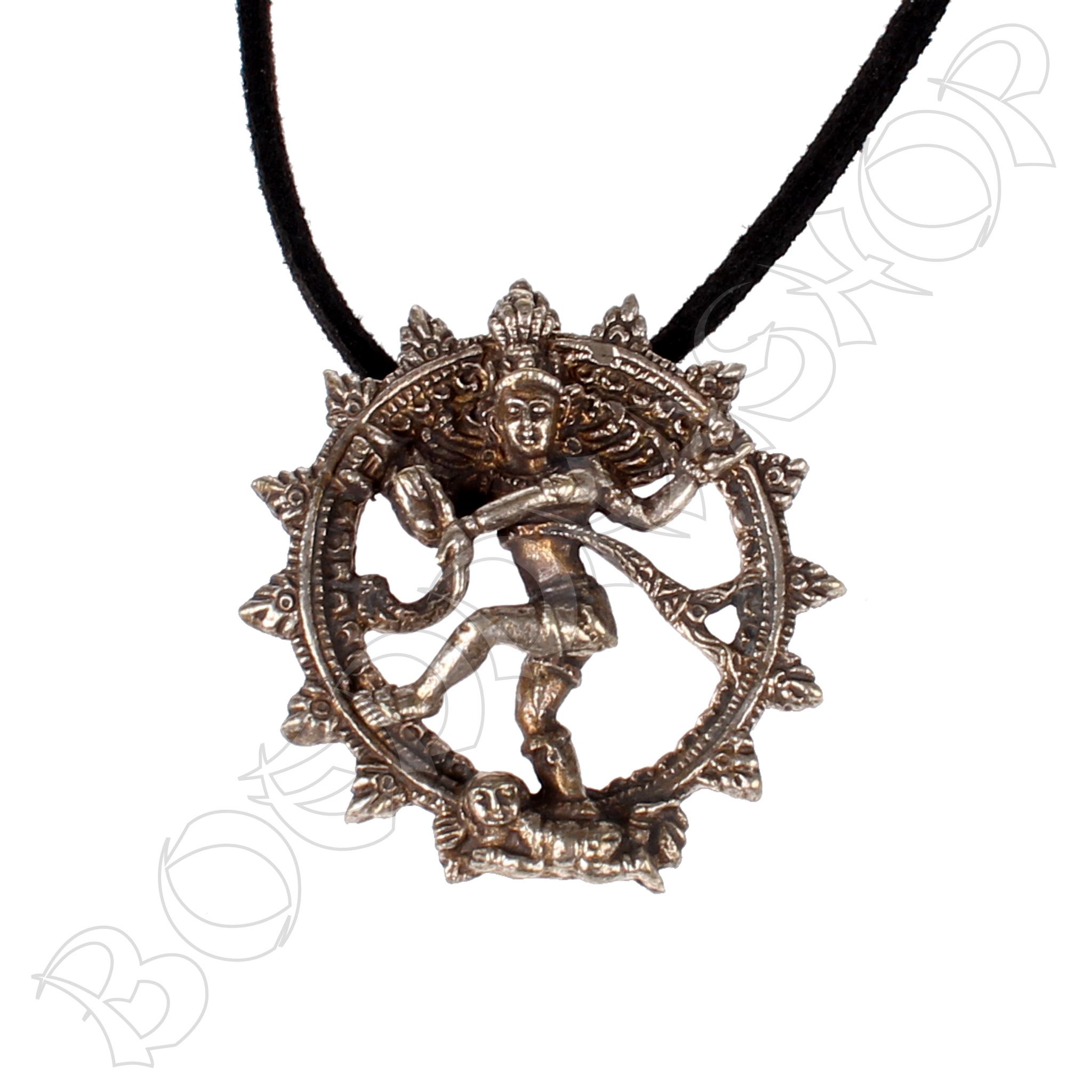 Shiva hanger brons
