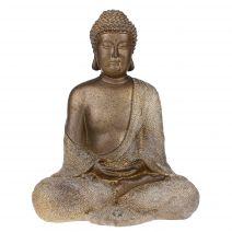 Boeddha meditatie bronslook