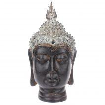 Thais Boeddha hoofd met spiegeltjes