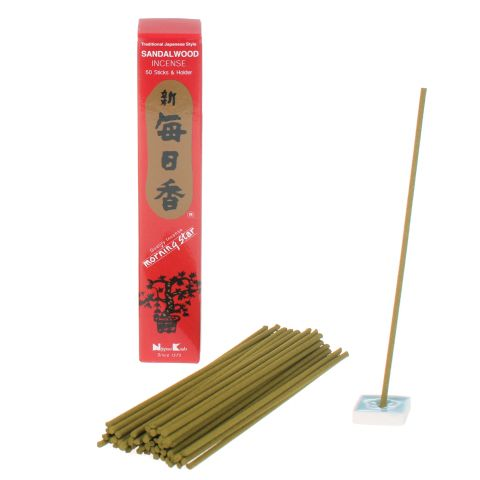Morning Star Sandalwood wierook 20g/50st.
