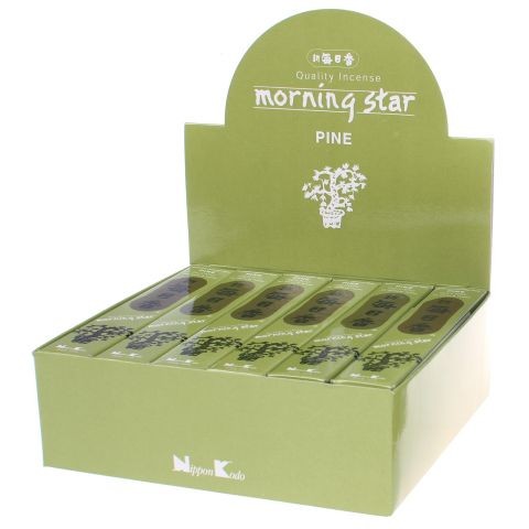 Doos Morning Star Pine wierook, 12x20g