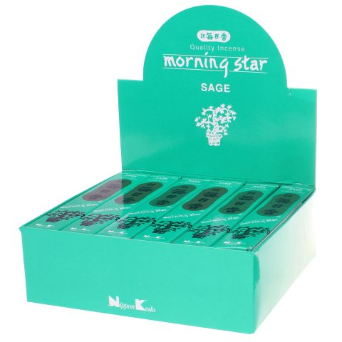 Doos Morning Star Sage wierook, 12x20g