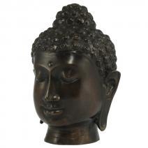 Indisch Boeddha hoofd brons