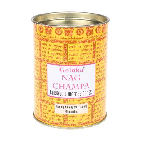 Goloka Nag Champa backflow wierook kegels