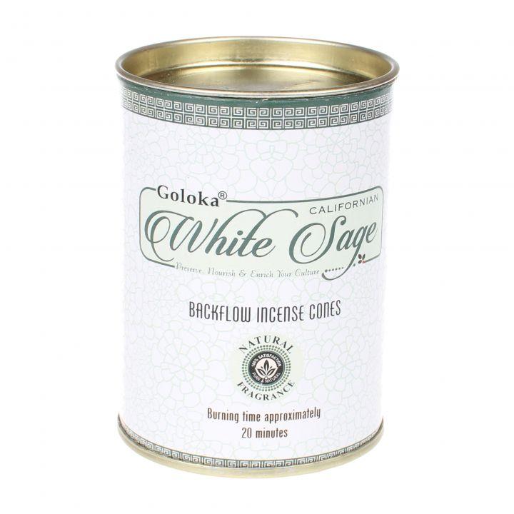 Goloka White Sage backflow wierook kegels