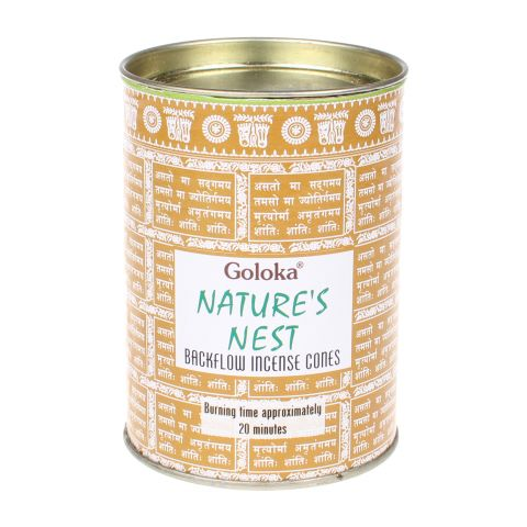 Goloka Natures Nest backflow wierook kegels