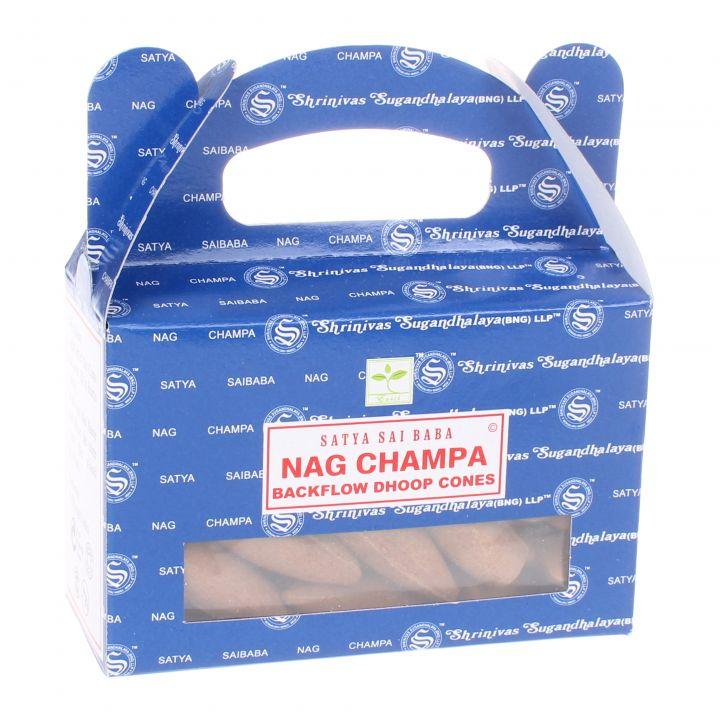 Nag Champa backflow wierook kegels