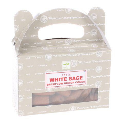 Nag Champa White Sage backflow wierook kegels