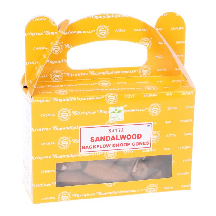 Nag Champa Sandalwood backflow wierook kegels