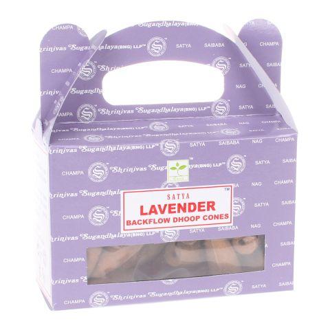 Nag Champa Lavender backflow wierook kegels