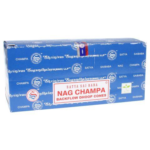 Doos Nag Champa backflow wierook kegels