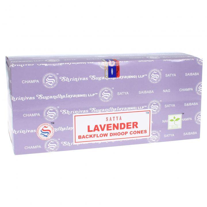 Doos Nag Champa Lavender backflow wierook