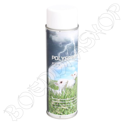 Polyspray - matte beschermende lak voor tuinbeelden