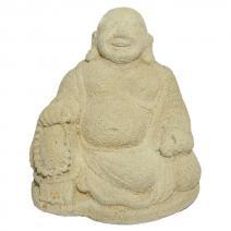 Happy Boeddha licht steen