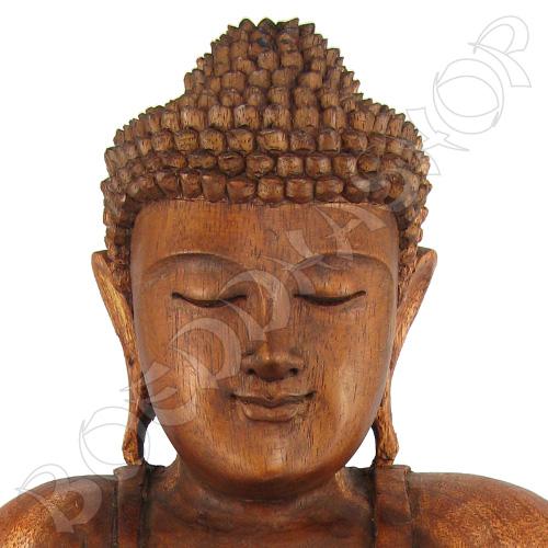 Houten Boeddha Vitarka 40cm