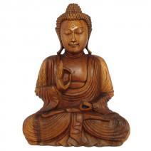 Houten Boeddha Vitarka 30cm