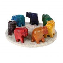 Wierookhouder Chakra olifanten