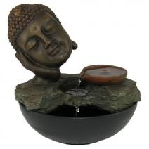 Fontein Boeddha hoofd