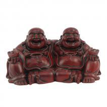 Vriendschaps Boeddha klein rood