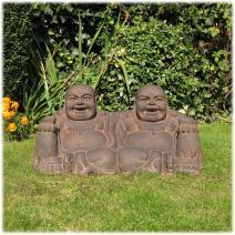 XL vriendschaps Boeddha lavasteen