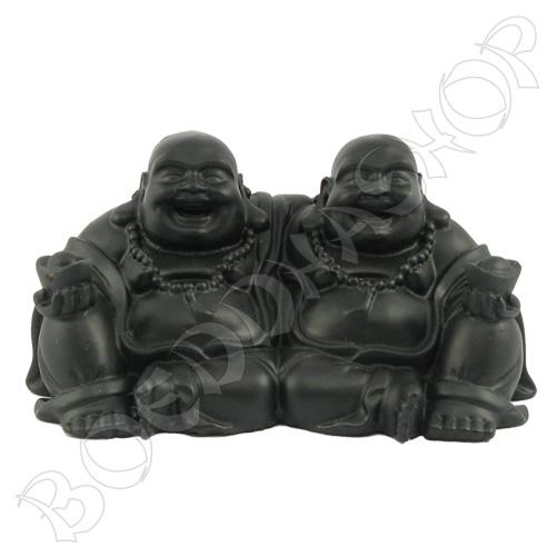 Vriendschaps Boeddha klein zwart