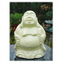 Keramiek Happy Boeddha primulageel #1