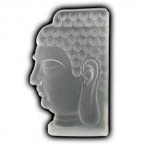 Thais Boeddha hoofd mat kristal