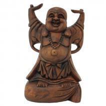 Houten Boeddha staand M