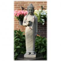 Staande Boeddha dharamchackra licht
