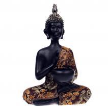 Thaise Boeddha met luxe gewaad