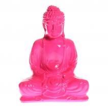 Fluor Boeddha roze M