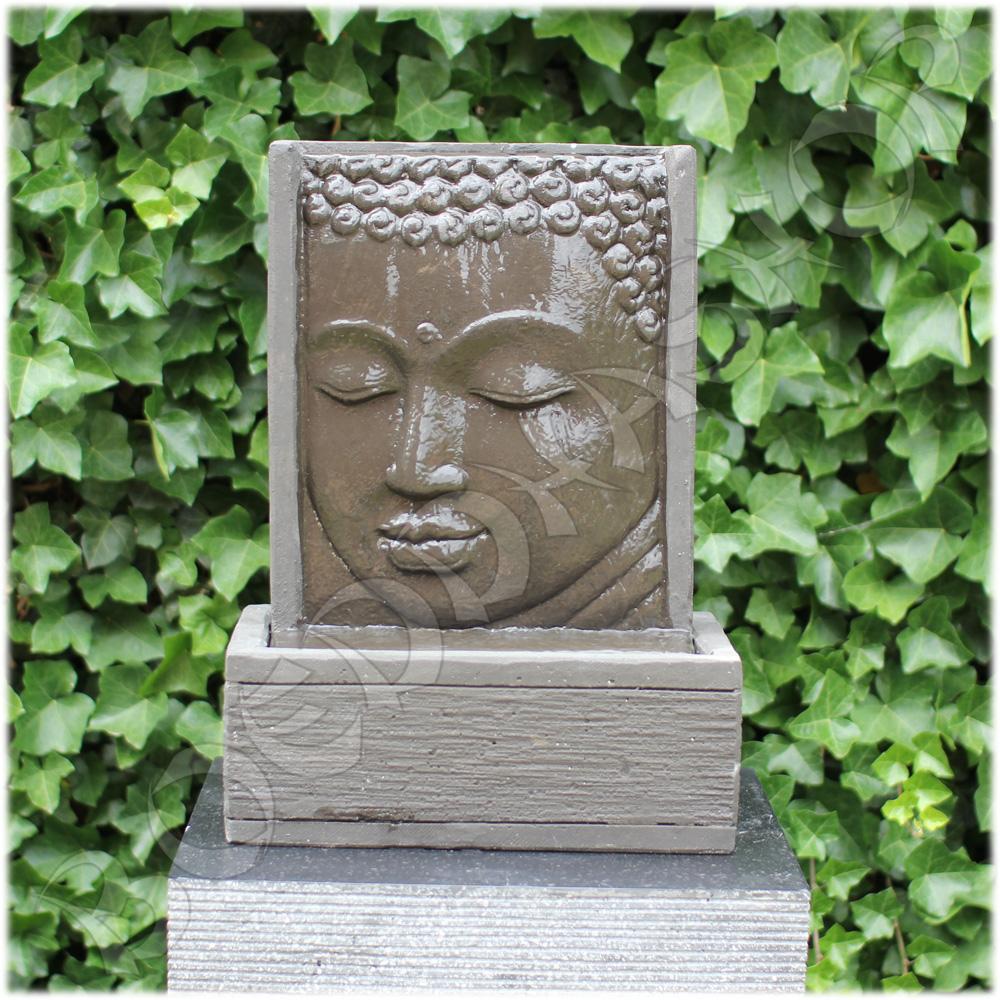 Boeddha Fontein Voor Buiten.Fontein Thaise Boeddha Gezicht
