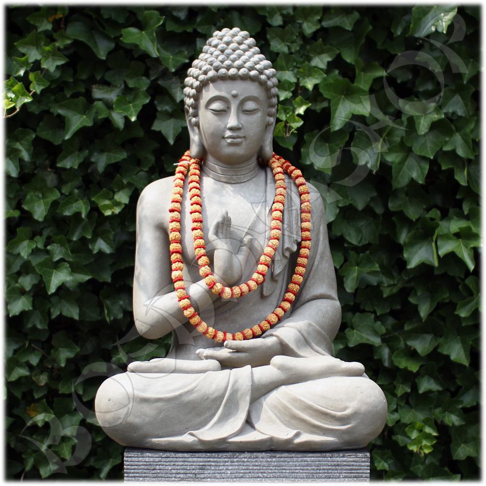 Tuinbeeld Boeddha namaskara licht XL