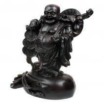 Chinese Boeddha met munten op zak L