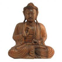 Houten Boeddha Vitarka 22.5cm