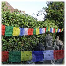 Tibetaanse gebedsvlaggen L