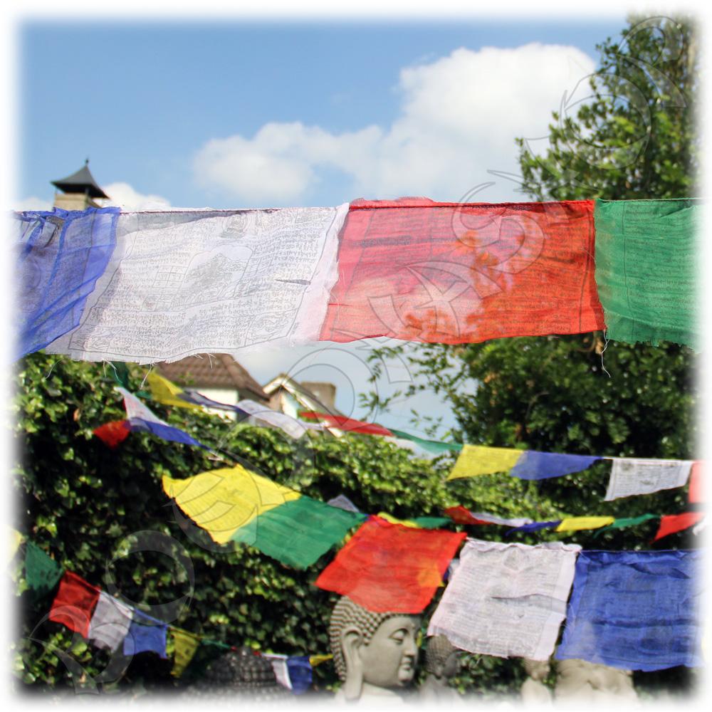Tibetaanse gebedsvlaggen XL