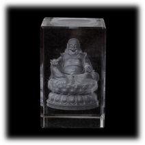 Chinese Boeddha in laserblok