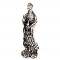 Bronzen staande Kwanyin