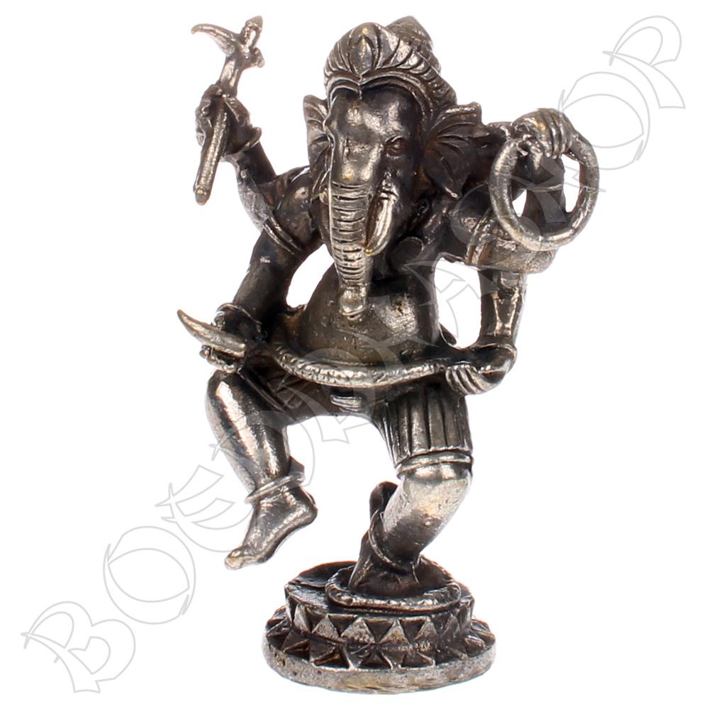 Bronzen dansende Ganesha