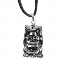 Hanger Happy Boeddha hematiet