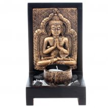 Kandelaar Boeddha goud